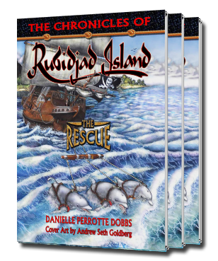 Book 1 - The Chronicles of Rubidjad Island, The Rescue